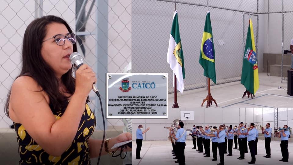 secretária municipal de Educação, Cultura e Esportes, Lucineide de Araújo